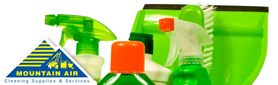 Mountain Air Organic Cleaning Supplies