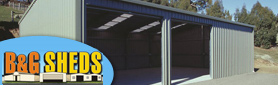Specialists in Shed Design & Supply - Customised to your requirements!