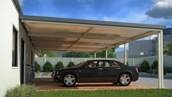 Skillion Carport Range