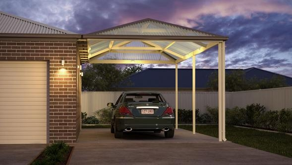 Pitched Hip Carport Range