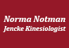 Click for more details about About Norma Notman-Jencke Kinesiologist
