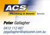 A C S Plumbing and Sewer Services