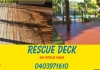 Rescue Deck and Exterior Timber