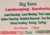 Big Save Landscaping & Gardening
