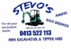 Stevo's Mini Excavator and Tipper Hire