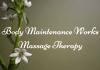 Body Maintenance Works