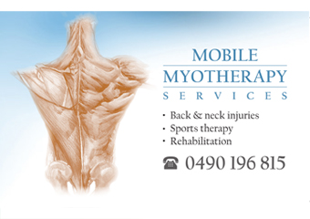 Anton Barhy - Mobile Myotherapy Services