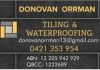 Donovan Orrman Tiling & Waterproofing