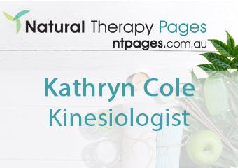 Kathryn Cole Kinesiologist