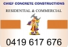 Chief Concrete Constructions