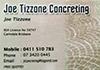 Joe Tizzone Concreting