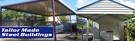 Tailor Made Steel Buildings - Carports & Garages