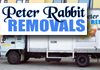 Peter Rabbit Removals - Specialising in House Moves & Interstate Moves