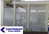 Privacy Screens & Security Doors  - Canterbury Steel Works