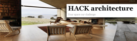HACK architecture Creates Homes for Living.