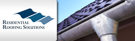 Residential Roofing Solutions - Guttering & Downpipes