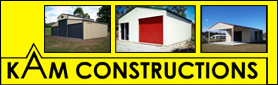 Garages, Sheds, Carport, Steel & Colourbond