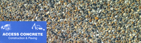 AAA Access Concrete Constructions & Paving - Exposed Aggregate Concrete