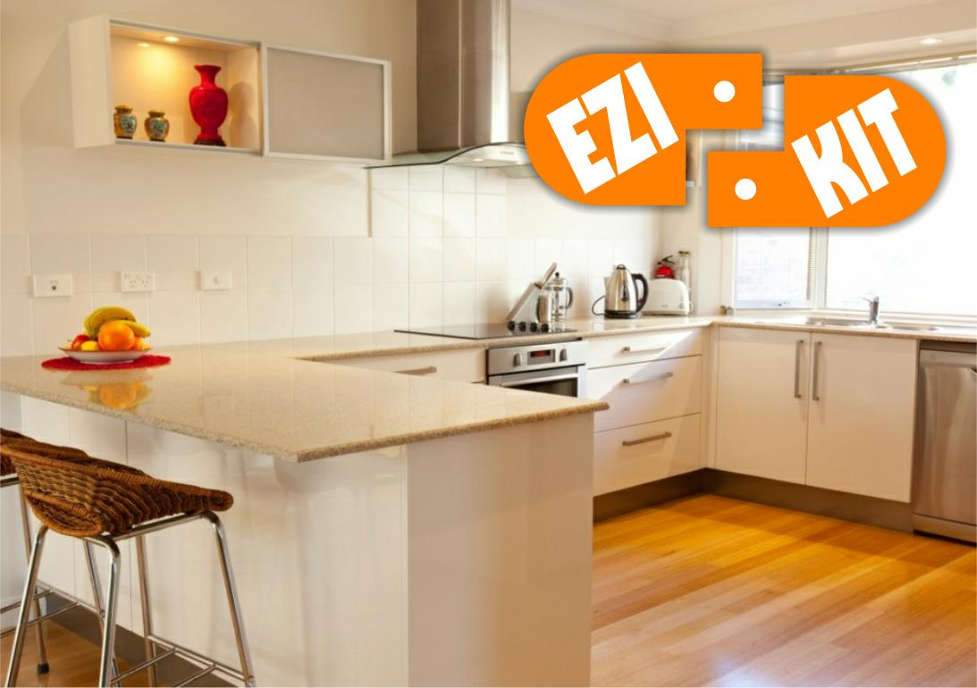Local flat pack kitchen experts in hobart tas for Flat pack kitchen cabinets perth