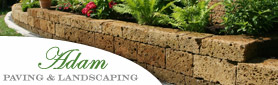 Adam Paving & Landscaping - Retaining Walls