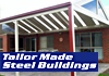 Tailor Made Steel Buildings - Steel Pergolas & Gazebos