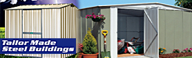 Tailor Made Steel Buildings - Sheds
