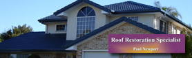 Expert Roof Restorers and Repairers!