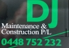 D J Maintenance Construction Pty Ltd