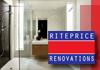 Riteprice Renovations - Bathroom & Kitchen Renovations