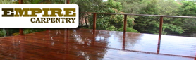 Skilled Carpentry Services for Your Outdoor Areas!