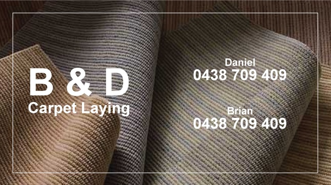 B&D carpetlaying