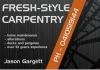 Fresh-Style Carpentry