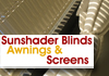 Sunshader Blinds, Awnings & Screens
