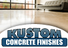 Kustom Concrete Finishes - Concrete Floor Coatings