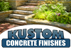 Kustom Concrete Finishes - Landscaping Construction & Turf Services