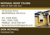 McPhail Roof Tiling