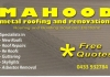 Mahood's Metal Roofing and Renovations