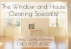 The Window and House Cleaning Specialist