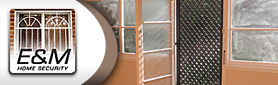 E & M Home Security - Aluminium Screen Doors