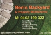 Ben's Backyard & Property Maintenance