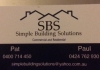 Simple Building Solutions Pty Ltd