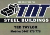 TNT STEEL BUILDINGS