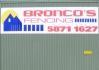 Bronco's Fencing
