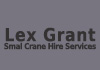 Lex Grant Small Crane Hire Services