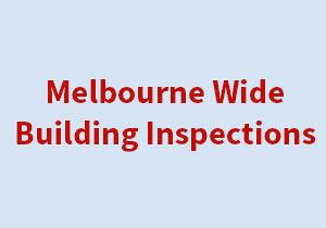 Melbourne Wide Building Inspections