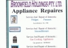 Broomfield Holdings Appliance Repairs