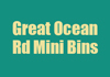 Great Ocean Rd Mini Bins