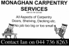 Monaghan carpentry services