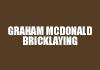 Graham McDonald Bricklaying