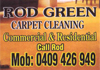 Rod Green Carpet Cleaning